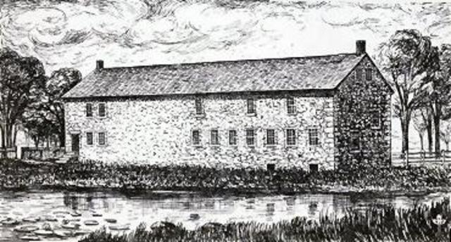 The first cotton mill