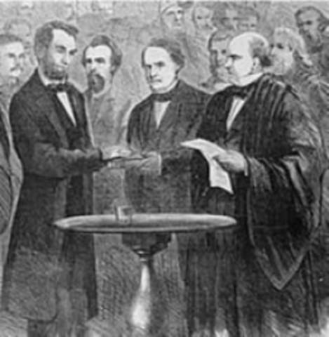 Lincoln Sworn In