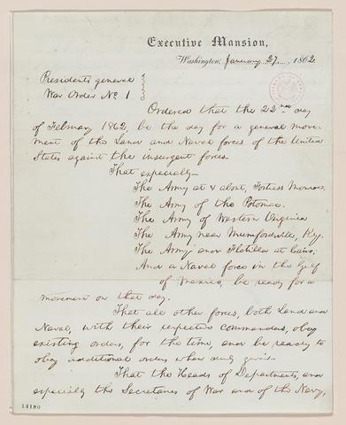General War Order No. 1