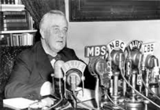 """FDR Calls for Social Insurance """"From the Cradle to the Grave"""""""