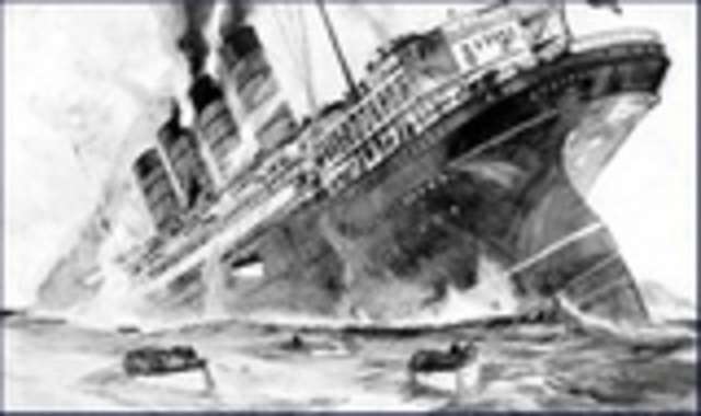 Germany Sinks British Ship