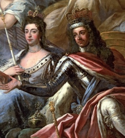 Mary II and William of Orange Become Monarchs