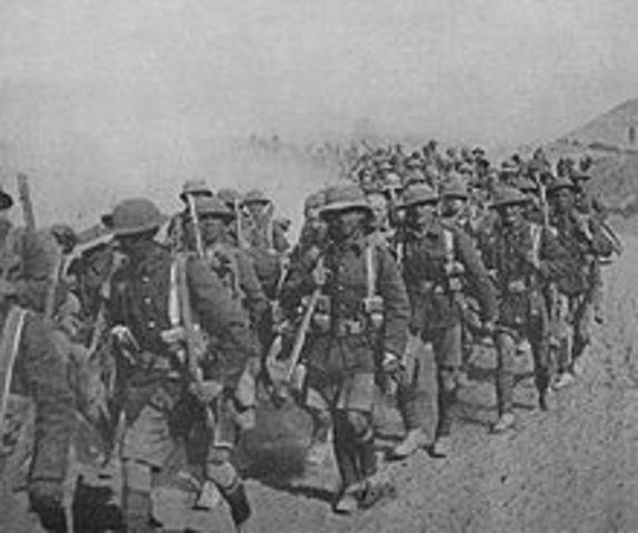British 13th division