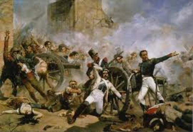 El inicio de la guerra de la Independencia