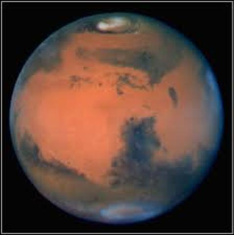 US Discovers Mars