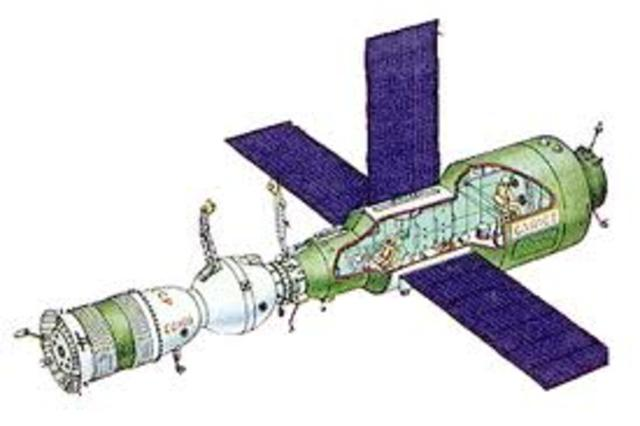 First Soviet Union Space Station