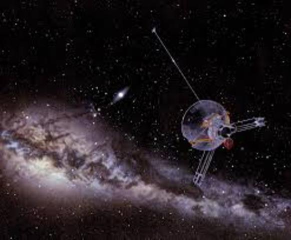 Pioneer 11's Journey