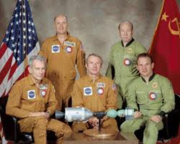 First U.S./ Soviet Mission