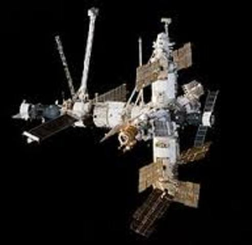 First Russian Space Station Begins