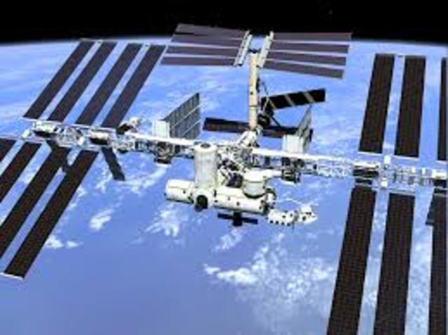 International Space Station Under Way