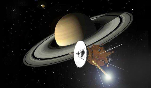 Cassini-Huygens Arrives at Saturn
