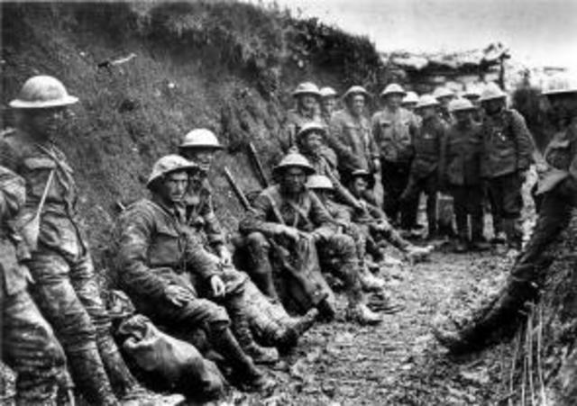 Battle of Somme Begins