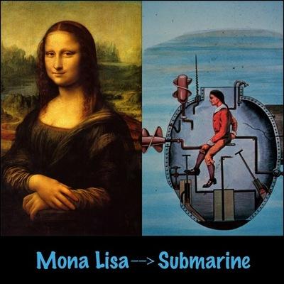 Mona Lisa to the Submarine  timeline