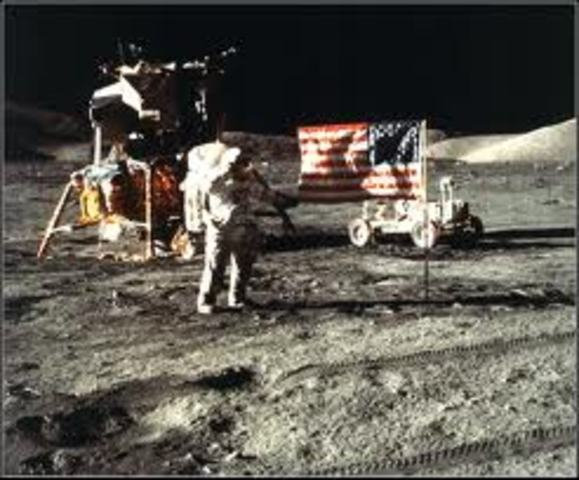 The last mission to the moon.