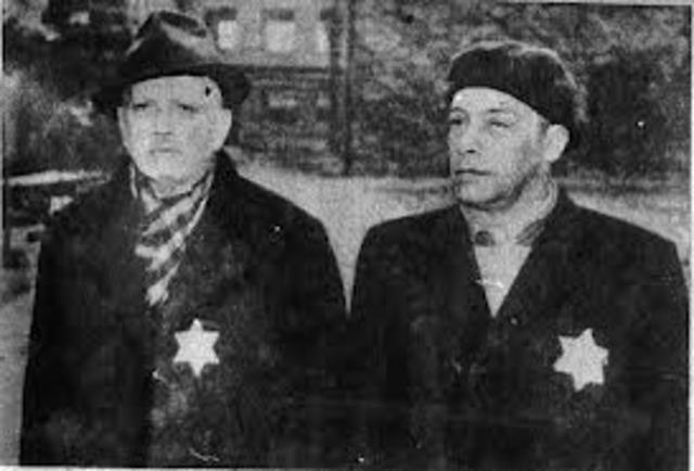 Jews Required to Wear Star of David