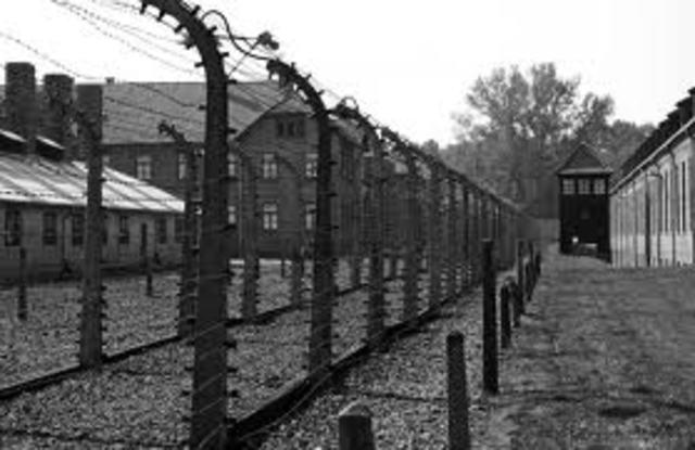 Auschwitz Starts Being Built