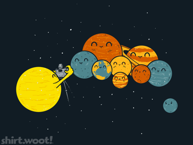Pluto Not A Planet :(