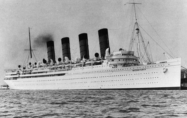 Sinking of the Lusitania to Australia