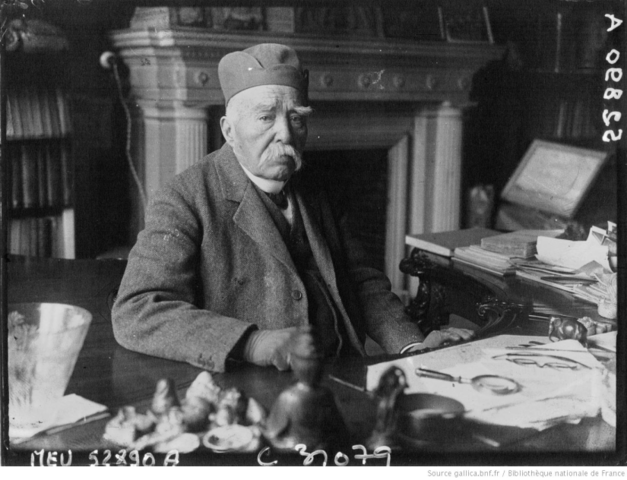 Mort de G. Clemenceau