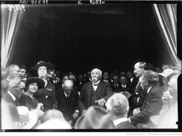 Visite de G. Clemenceau en Corse
