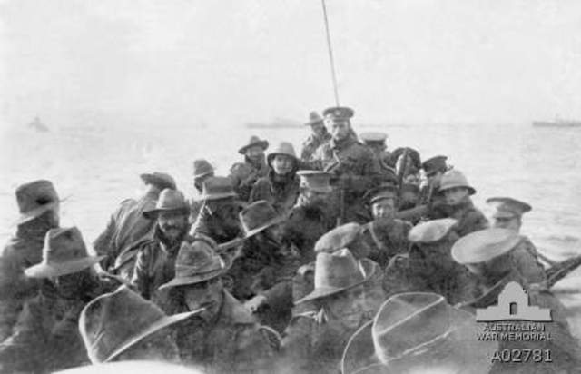 Gallipoli Landing (part 1)