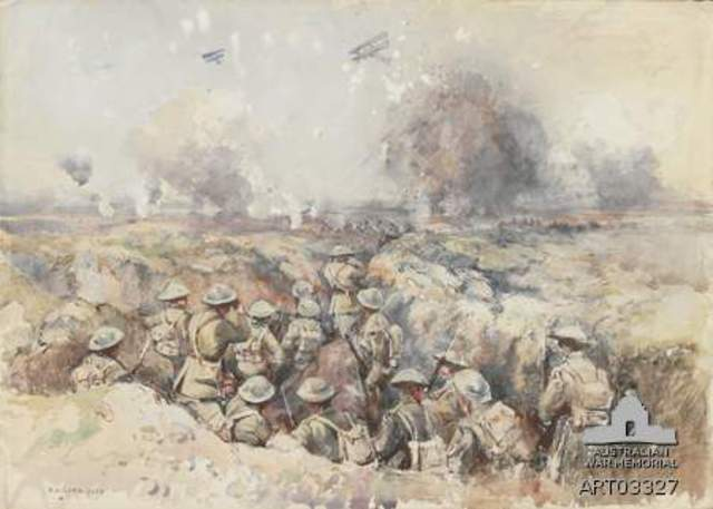 Third Ypres – Mein road and Polygon wood.