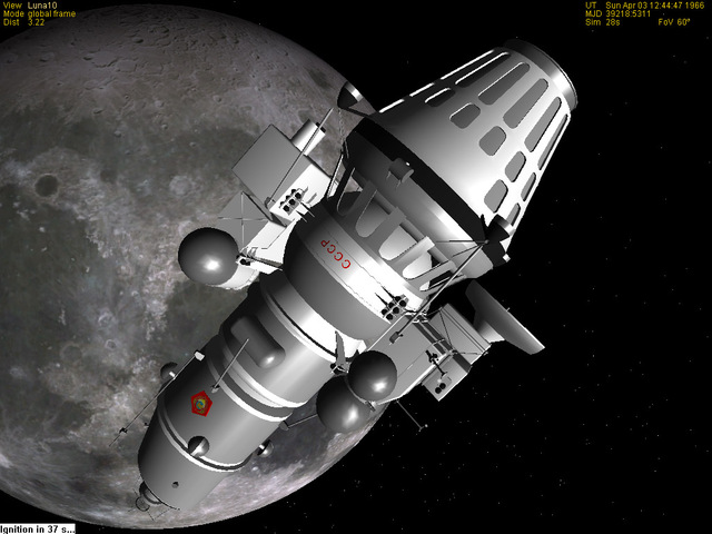 Apr. 3 -Luna 10 becomes the first satellite to orbit the Moon.