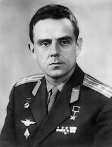 Apr. 24 -Cosmonaut Vladimir Komarov is killed