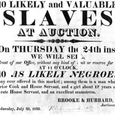 Slavery timeline