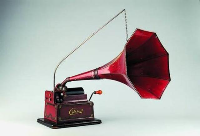 Phonograph is invented