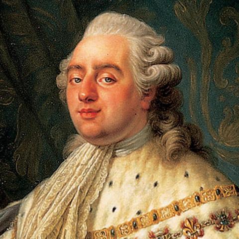 King louis XVI crowned