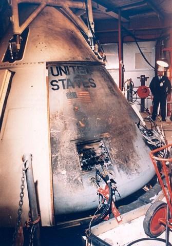 NASA's First Disaster