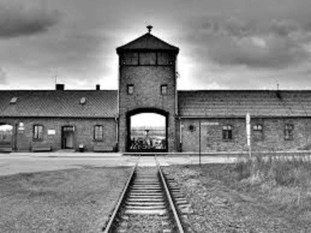 Birkenau Construction Begins