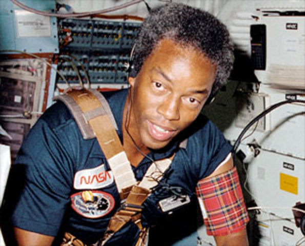 First African American in Space