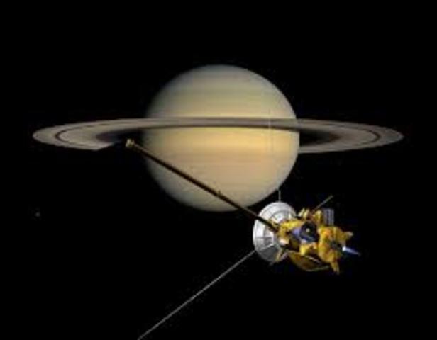 Cassini Reaches Saturn