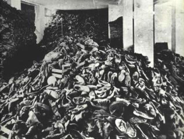 Gypsies Deported to Auschwitz