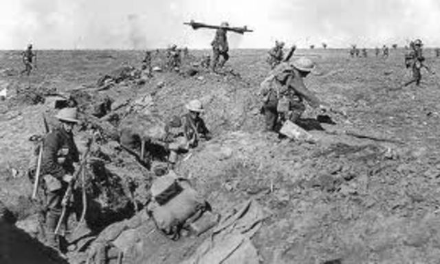 The end of the Battle of the Somme