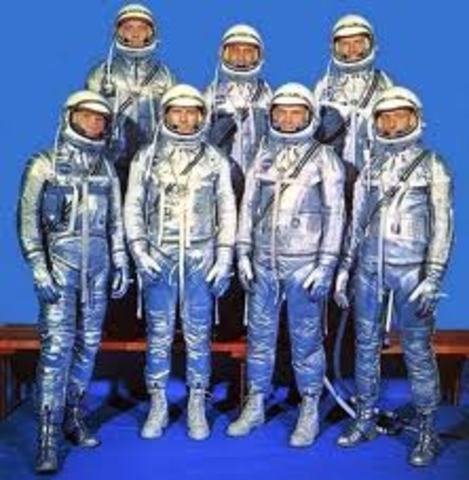 First American Astronauts Chosen