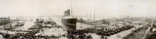 The Lusitania's Route