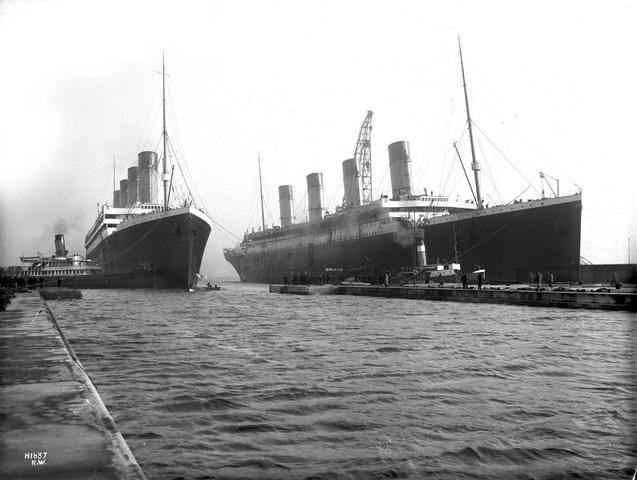 Lusitania vs the Olympic class