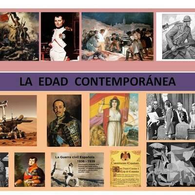 EDAD CONTEMPORÁNEA DE ESPAÑA ALEJANDRO HOSTENCH timeline