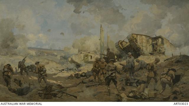 The Hindenburg Line Battles