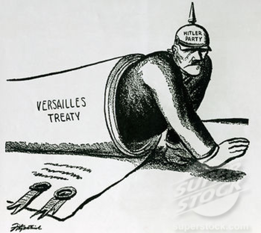 Treaty of Versailles is Signed! :)