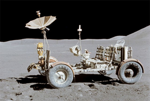 First Lunar Rover Exploration