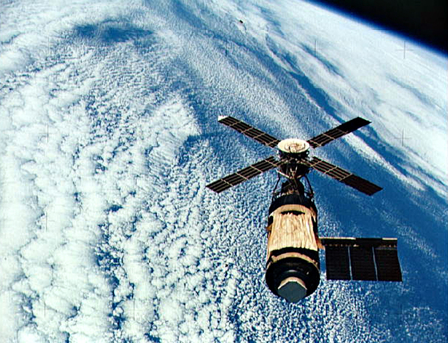 First US Space Station Launches