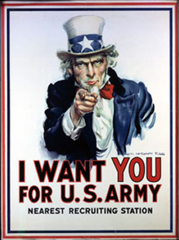 America Enters the War!