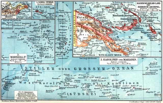 Australia Captures German New Guinea!