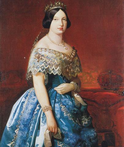 Isabel II accede al trono de España