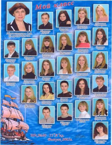 Выпускники 2005