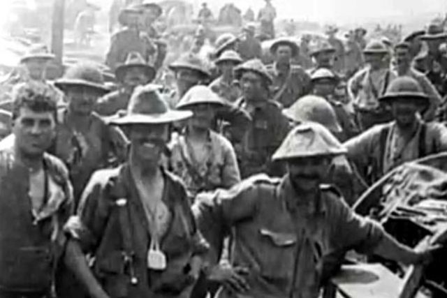 Australians joined the battle of the Somme
